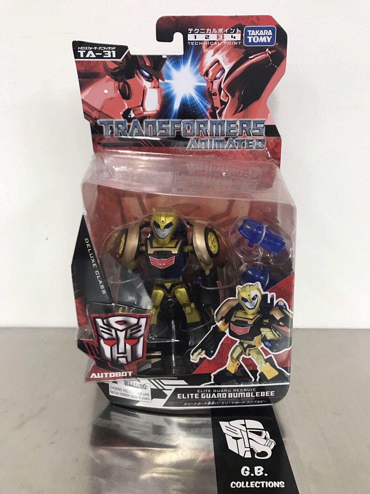 Transformers Takara Animated TA-31 Elite Guard Bumblebee NEW SEALED