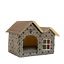 thumbnail 15 - Pet-Cat-Dog-House-Kennel-Puppy-Cage-Warm-Cushion-Soft-Bed-Sleeping-Cave-Nest-Den