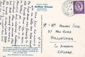 M 243 Scarinish Isle of Tiree Inner Hebrides July 1965 postcard. Front image..
