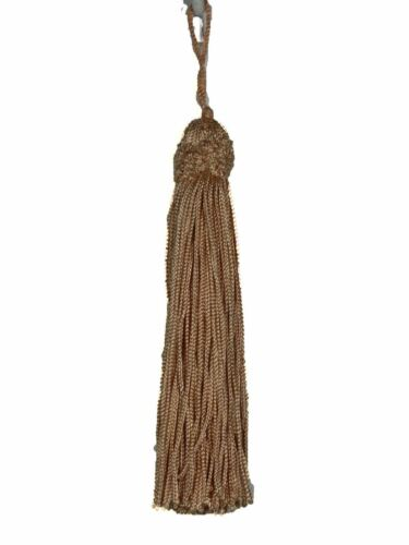 Lot of 3 Conso Trims Princess 11762 K30 DUSTY PEACH Decorative Chainette Tassel