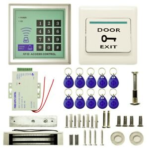 Home-Office-MJPT019-RFID-Magnetic-Lock-10-Buckle-Card-Access-Control-System-Kits