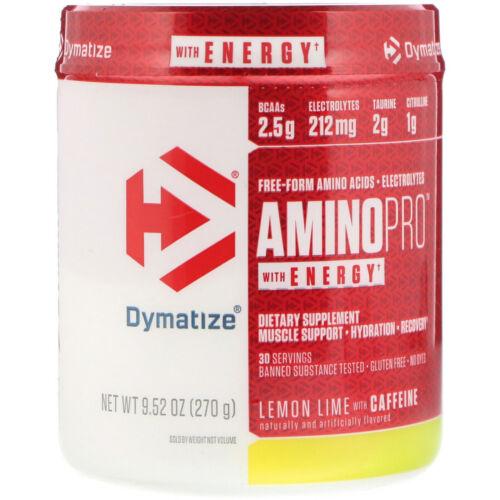 270g Energie Zitrone Limette Dymatize Amino Pro