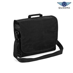 Quadra-Unisex-Shoulder-Strap-Record-Bag-QD90-Office-Business-Handbag