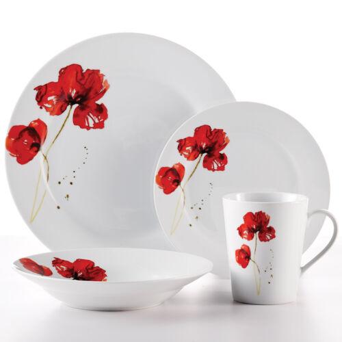 Poppy Dining Dinnerware set for 4