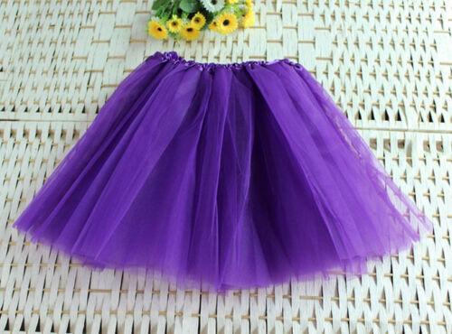 Baby Girls Kids Tutu Ballet Dance Skirt Dress Up Short Mini Pettiskirt