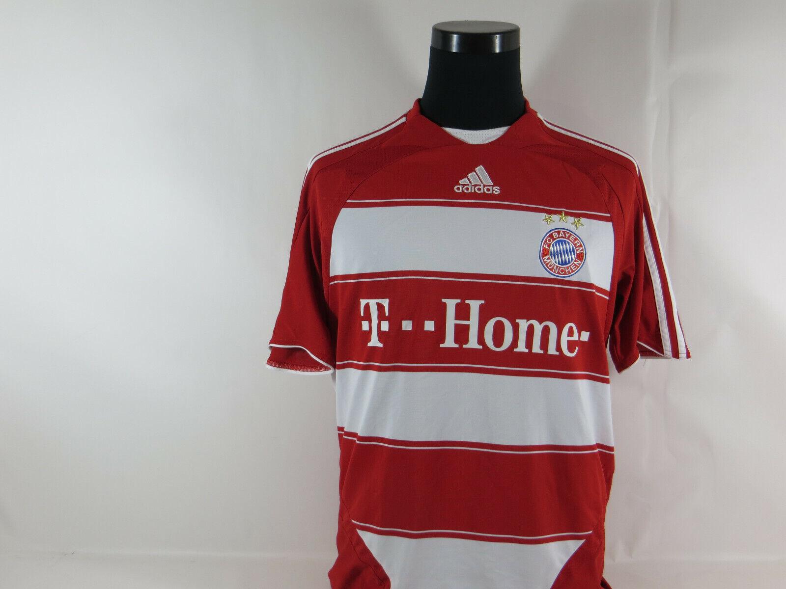 Vintage FC Bayern München Trikot Größe Größe Größe M Adidas Jersey Maillot kurzarm 7 Ribery 7dbca4