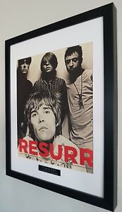 The-Stone-Roses-Framed-Original-NME-Certificate-NEW-RARE-Ian-Brown-Oasis