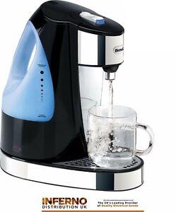BREVILLE-VKJ142-Hot-One-Cup-Energy-Saving-Dispenser-Kettle-Black-Fast-Boil-3KW