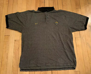 Jacksonville Jaguars Vintage 90's Nike Polo XL EUC Rare NFL Minshew