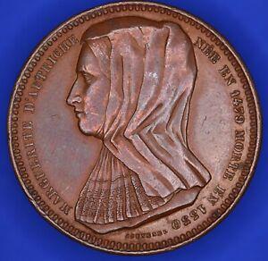 Belgique-Margaret-d-039-Autriche-duchesse-de-Savoie-medaille-par-Jouvenel-18167