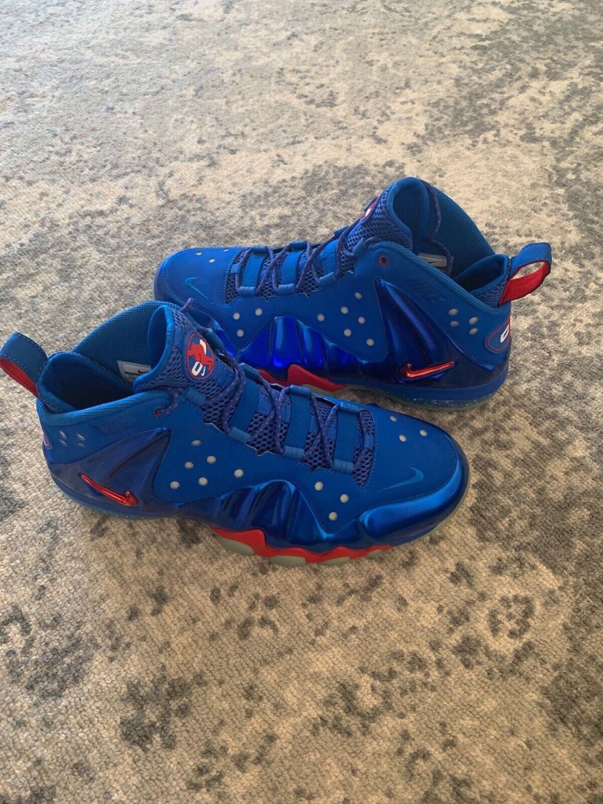Brand new Nike Charles Barkley Men's shoes  size 11.5 bluee
