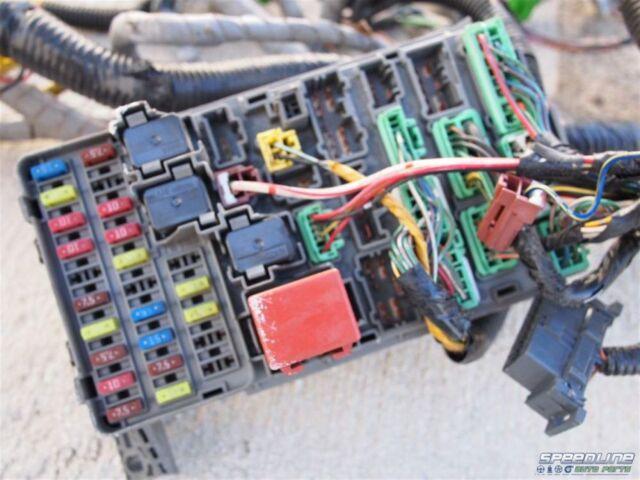 2003 Honda S2000 Oem Ap1 Interior Wiring Harness Fuse Box