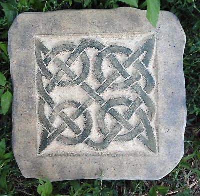 NEW plaster,concrete mould celtic tile plastic mold
