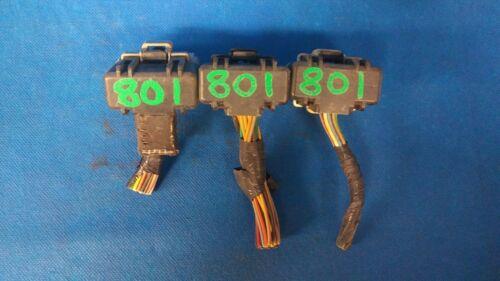 01 JEEP CHEROKEE 4.0 ECU PLUGS CONNECTORS 801AD 801AB 801AC 801