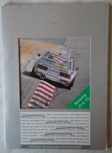 Pressemappe Press Kit Mercedes Dtm 1993 Norisring S.g Auto & Motorrad: Teile Zustand Ausreichende Versorgung