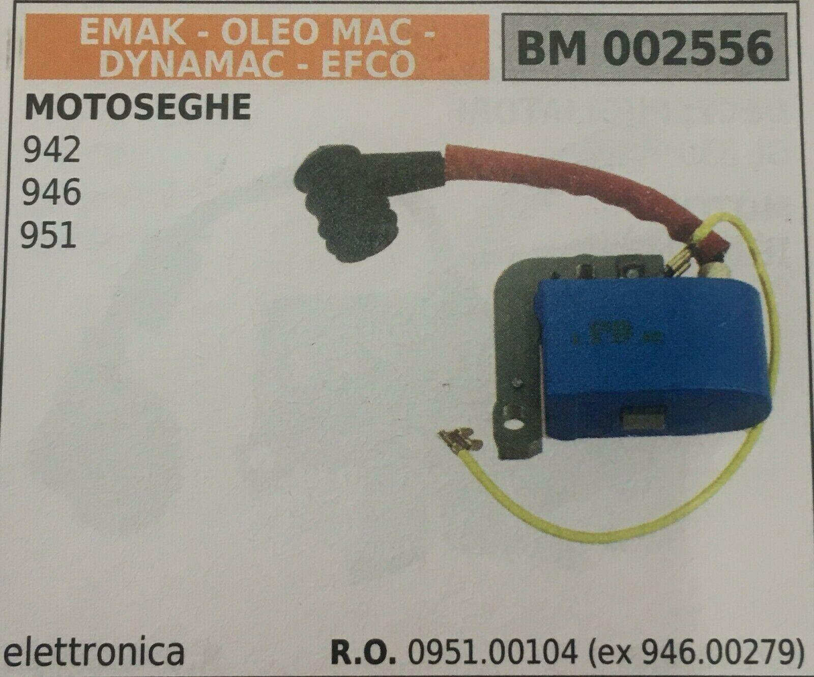 Bobina Electrónica Emak Oleo Mac -Dynamac- Efco Bm 002556