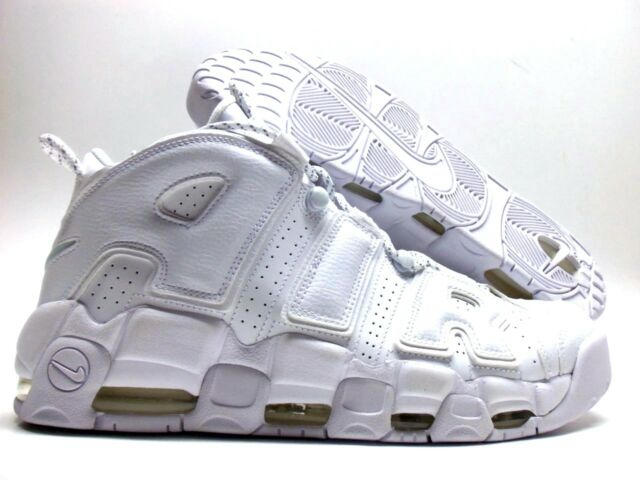 e36f8f0a311c3 Nike Air More Uptempo Triple White 96 Pippen Retro Sneaker 3m Men ...