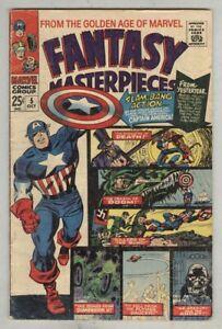 Fantasy-Masterpieces-5-October-1966-VG-Golden-age-Captain-America