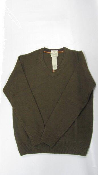 Beretta Herren Pullover Diamond Wool Wool Wool mit V- Ausschnitt 95a3ea