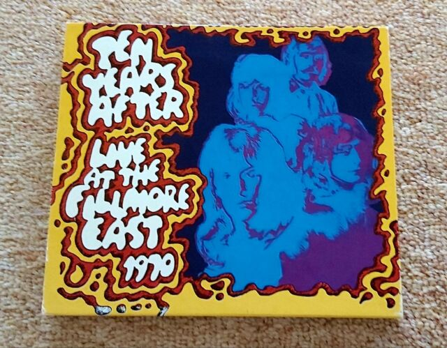 Ten Years After Live At The Fillmore East 1970 2001 For Sale Online Ebay