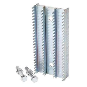 Buff Rake Metal Plate Replacement Buffing Wheel Rake Teeth with 2 set Screw