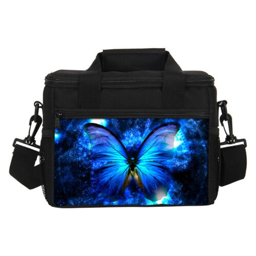 Fantasy Butterfly Big Backpack Insulated Lunch Box Pencil Case Crossbody Bag Lot