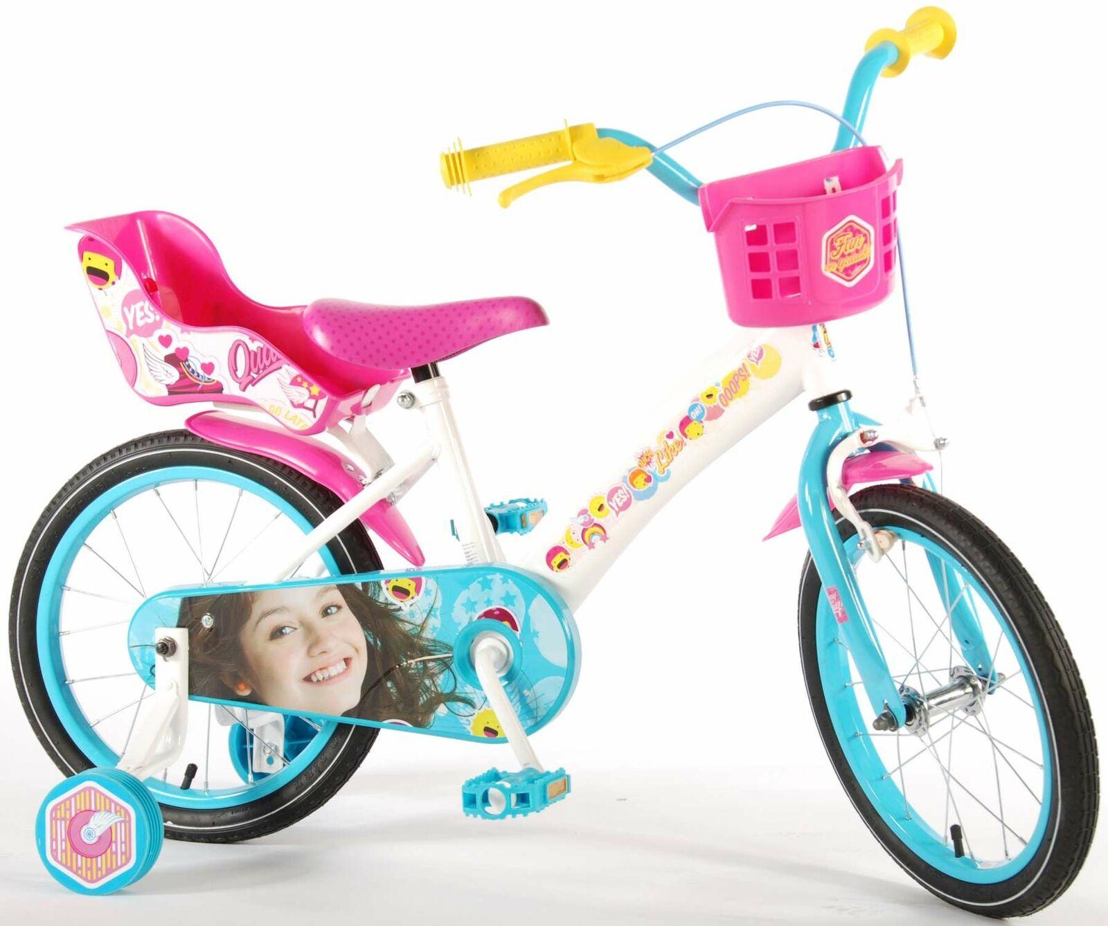 16 Zoll Soy Luna Mädchenfahrrad Mädchen Rad Kinder Rad Fahrrad