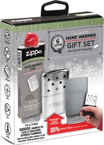 Zippo Lighters Hand Warmer 6hr Gift Set ORMD 40351