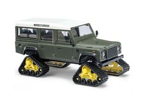 Busch-50365-Landrover-With-Traction-Tracks-Green-H0