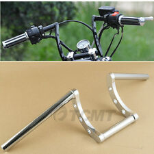 "Drag Handlebars 1"" Z Bars For Harley Triumph Victory BSA Custom Chopper Bobber"