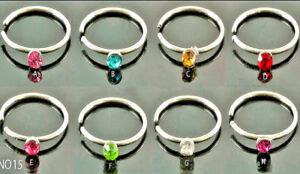 8-Colour-Set-2mm-CRYSTAL-NOSE-EYEBROW-HOOP-LIP-EAR-SURGICAL-STEEL-RINGS-STUDS