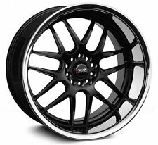XXR 526 17x10 5x100,5x114.3 20et Black SSC Wheels Rims