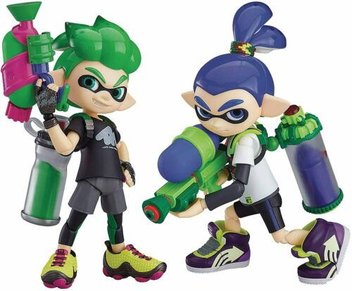 figma Splatoon Boy DX Edition Good Smile Company h:About 100mm