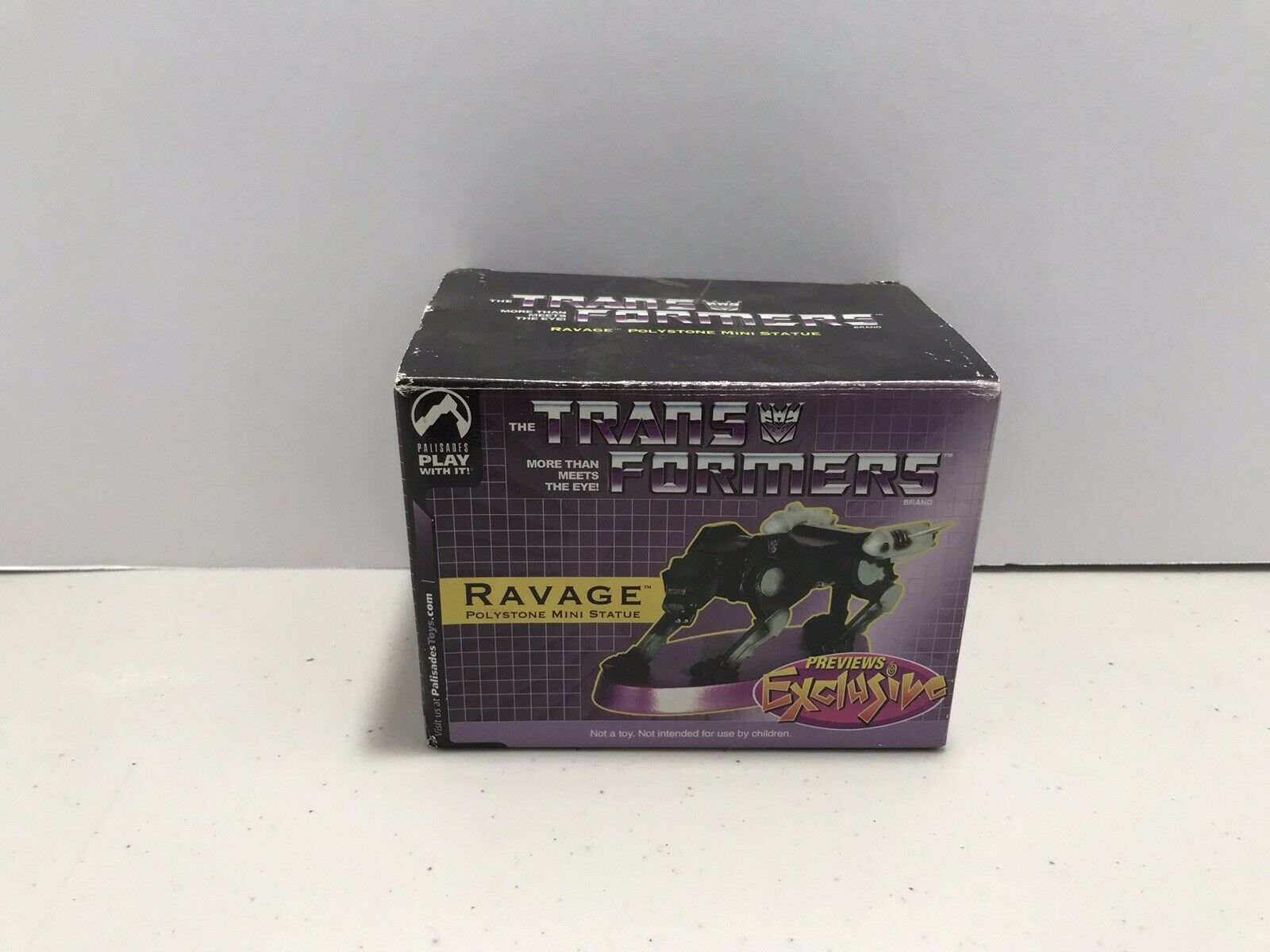 Transformers Previews Exclusive Ravage Mini Statue