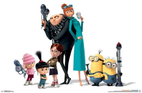 CHARACTERS MOVIE POSTER 22x34 MINIONS 14945 DESPICABLE ME 3