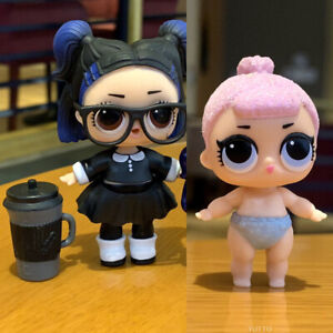 LOL Surprise Doll Series 3 Confetti Pop Dusk /& lil dusk sd