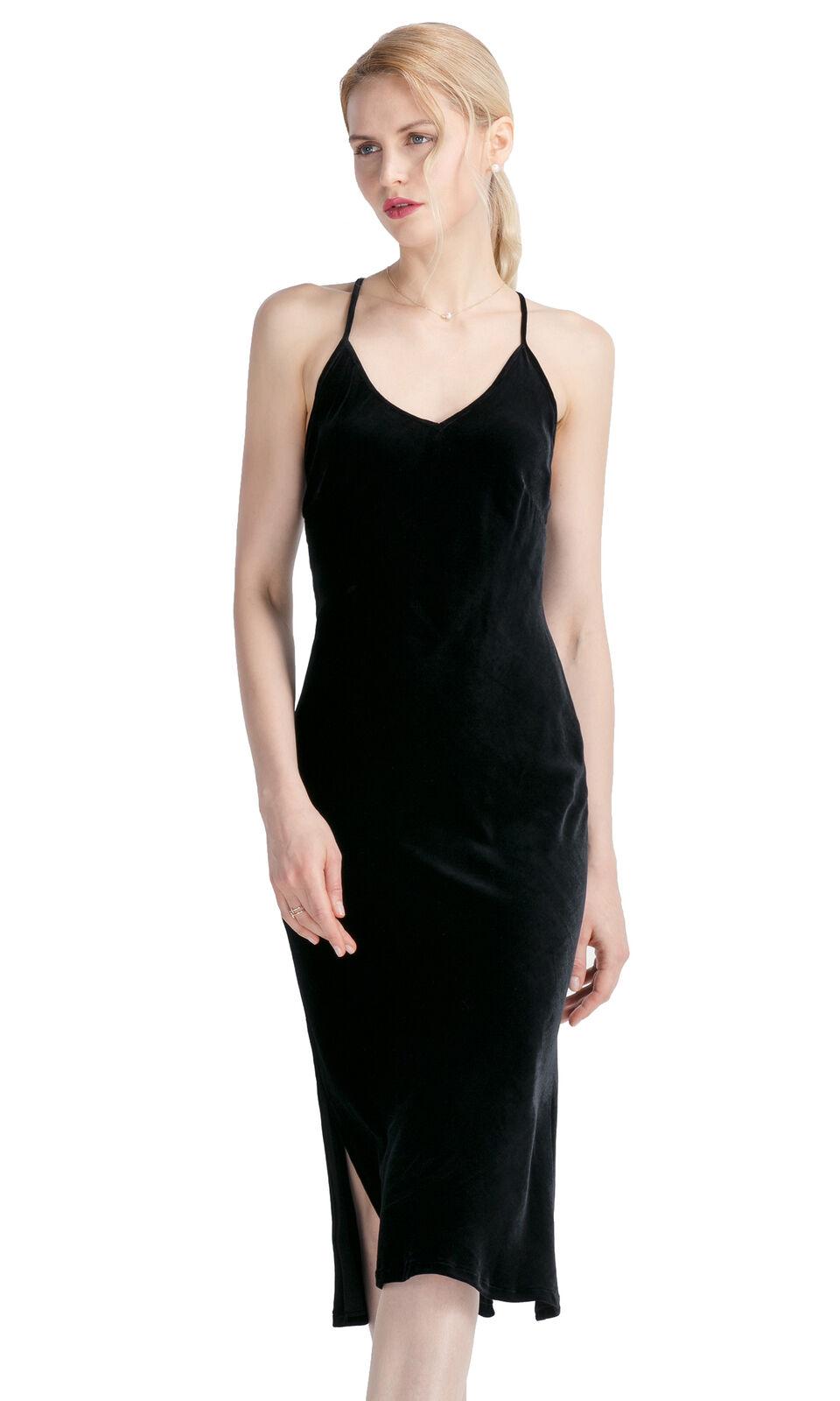 LILYSILK Silk Dress for Women Super Hot Hot Hot Silk Party Evening Dress Spaghetti Strap 420459