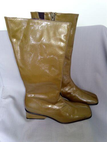 Bottes Ladies Taille Girls Femmes Shiny 5 Pour Brand 5 Marron New AqF1UwACx