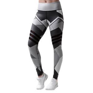 taille 40 57b32 93dab Details about Femme Imprimé Fitness Legging Course Gym Extensible Sport  Pantalon de Yoga