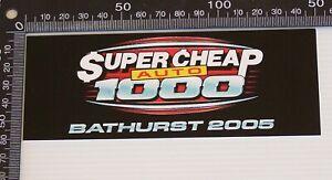 GENUINE-SUPERCHEAP-AUTO-BATHURST-1000-05-SOUVENIR-CAR-RACING-STICKER-MERCHANDISE