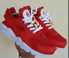 Men's Air Huarach Sport Shoes Sneakers Athletic Shoes 9 Colors white red