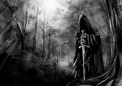 Poster 42x24 cm El Señor De Los Anillos The Lord Of The Rings Nazgul Pelicula 02