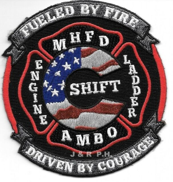 "*NEW STYLE*  Idlewild  Fire Dept. North Carolina fire patch 3.5/"" x 4/"" size"