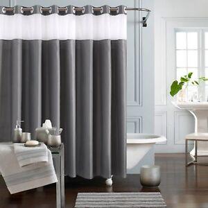 Buy Kamspark Fabric Shower Curtain Hookless For Bathroom Mold