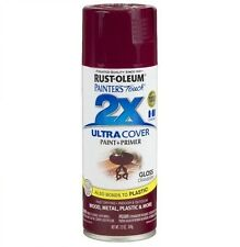 Rust-Oleum 249863 Painter's Touch Acrylic Spray Paint - Gloss Cranberry