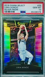 PSA-10-RC-Luka-Doncic-2018-19-Select-Concourse-SILVER-PRIZM-25-Pristine-Rookie