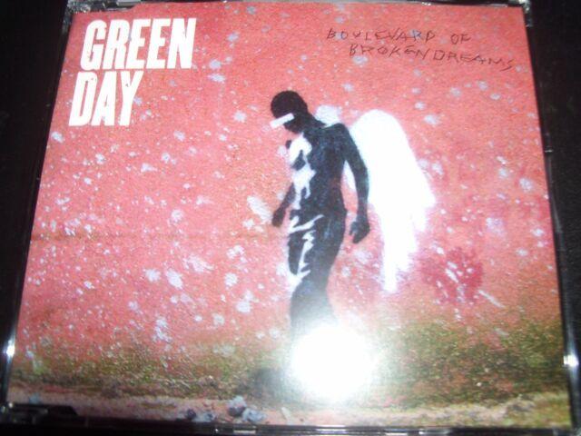 Green Day Boulevard Of Broken Dreams Australian CD Single - Like New