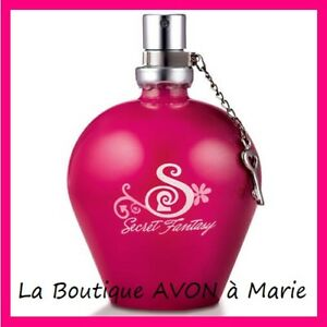 Eau De Toilette Secret Fantasy By Avon New Ebay