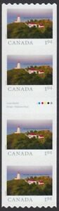 2020-FROM-FAR-AND-WIDE-LIGHTHOUSE-GUTTER-STRIP-OF-4-1-94-MNH-Canada