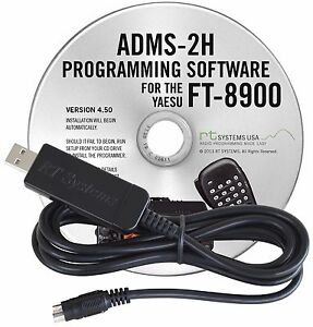 YAESU-ADMS-2H-USB-Software-amp-Cable-For-FT-8900-to-USB